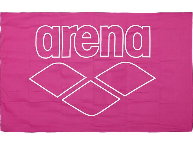 arena Pool Smart Towel fresia rose-white